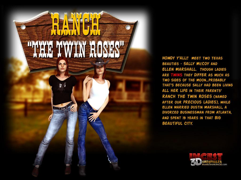 Porn Comics - Ranch The Twin Roses. Part 1 porn comics 8 muses