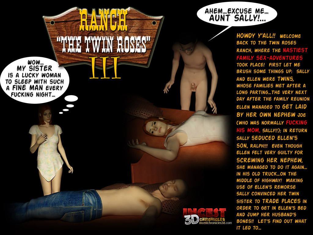 Ranch The Twin Roses. Part 3- Incest3DChronicles image 1