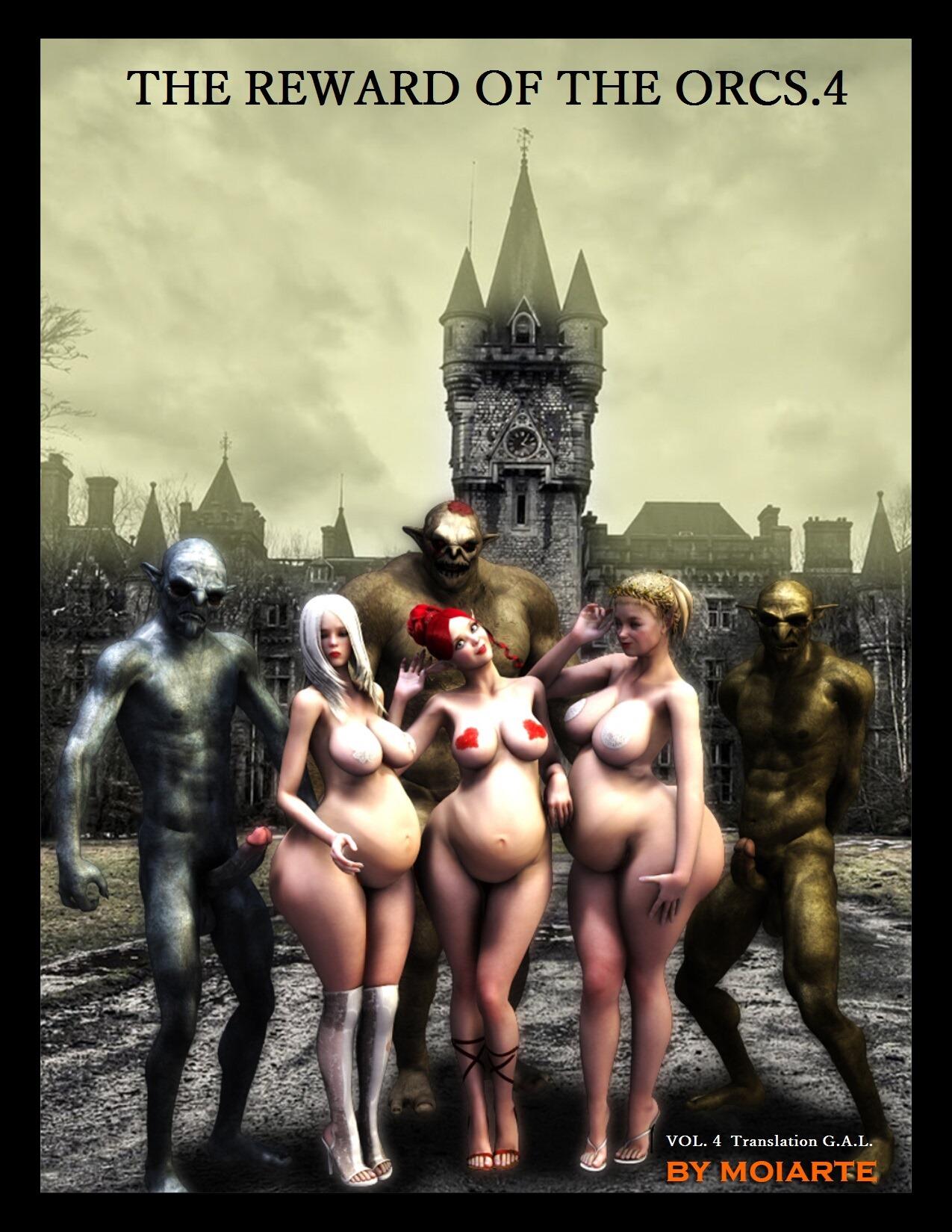 Reward Of The Orcs Vol.4- Moiarte image 1