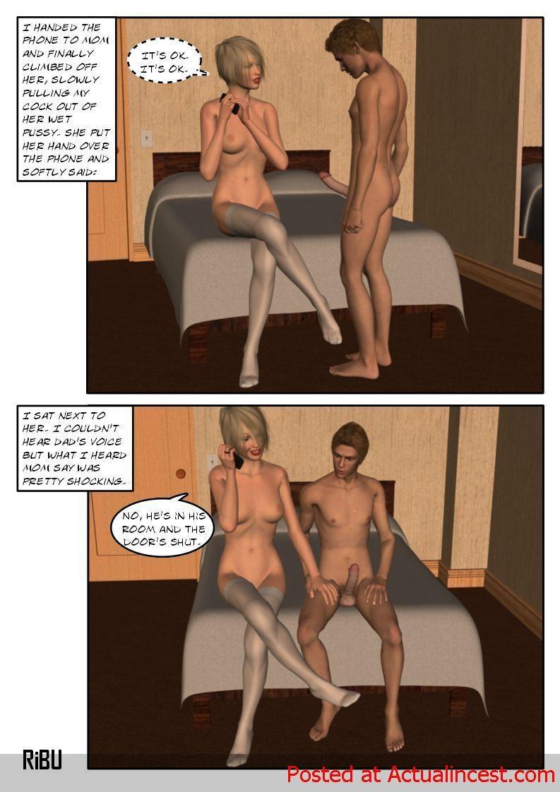 Porn Comics - [Ribu] Rooming with Mom 2 porn comics 8 muses