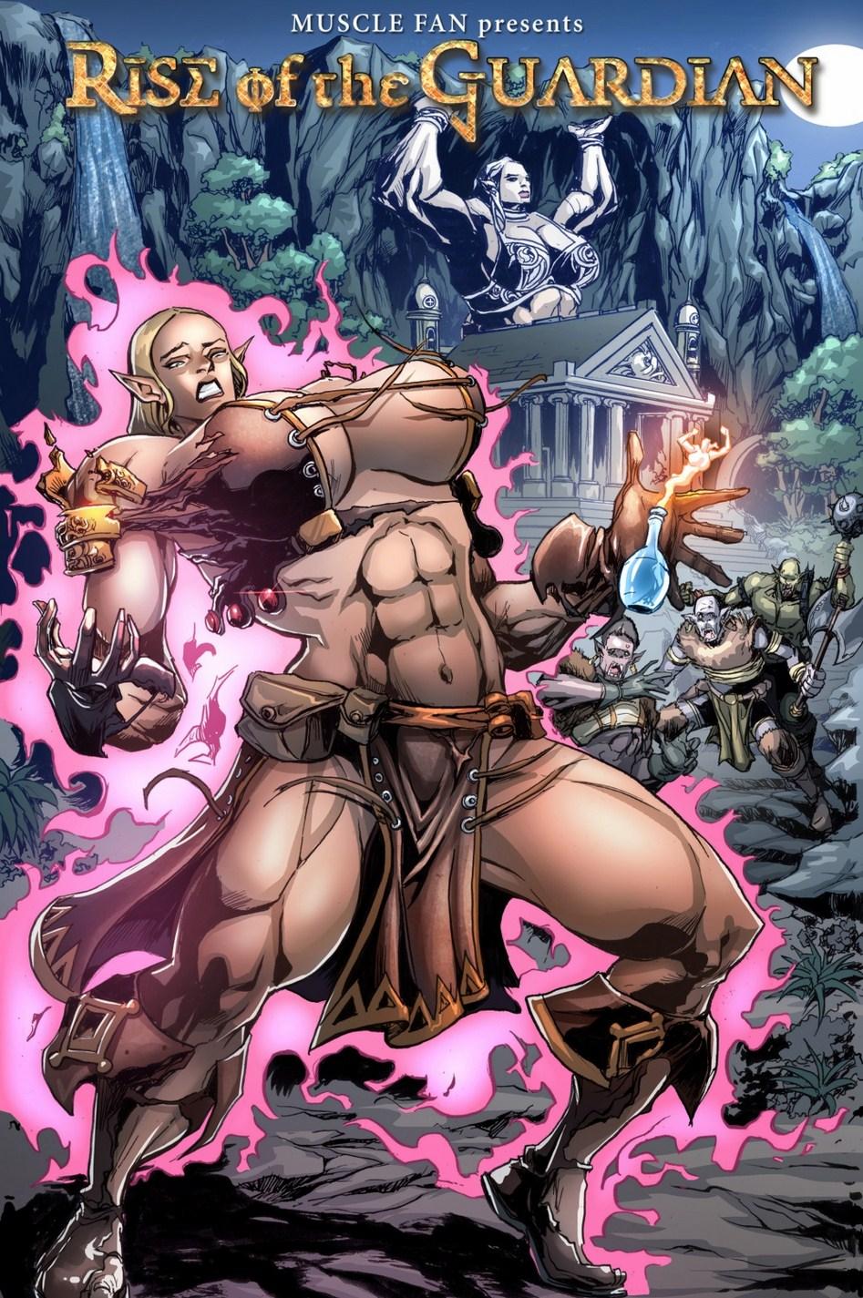 Rise of Guardian (Muscle Fan) Parody image 01