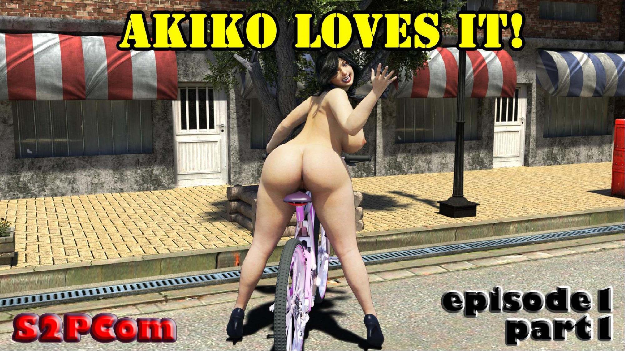 Porn Comics - S2PCom- Akiko Loves It Episode.1 porn comics 8 muses