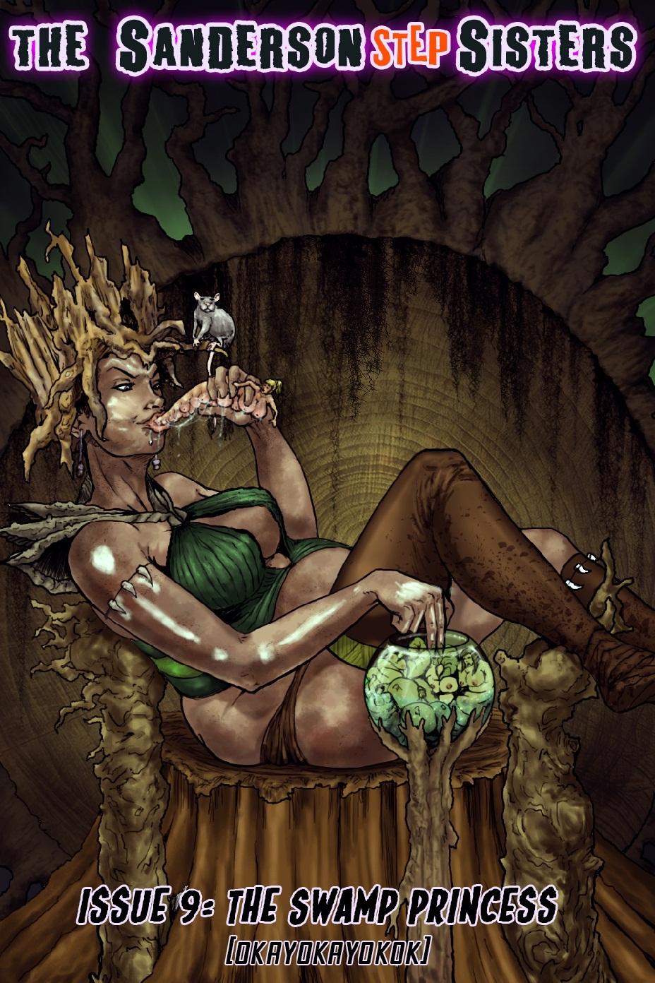 Porn Comics - Sanderson Step Sisters Issu. 9 Swamp Princess porn comics 8 muses