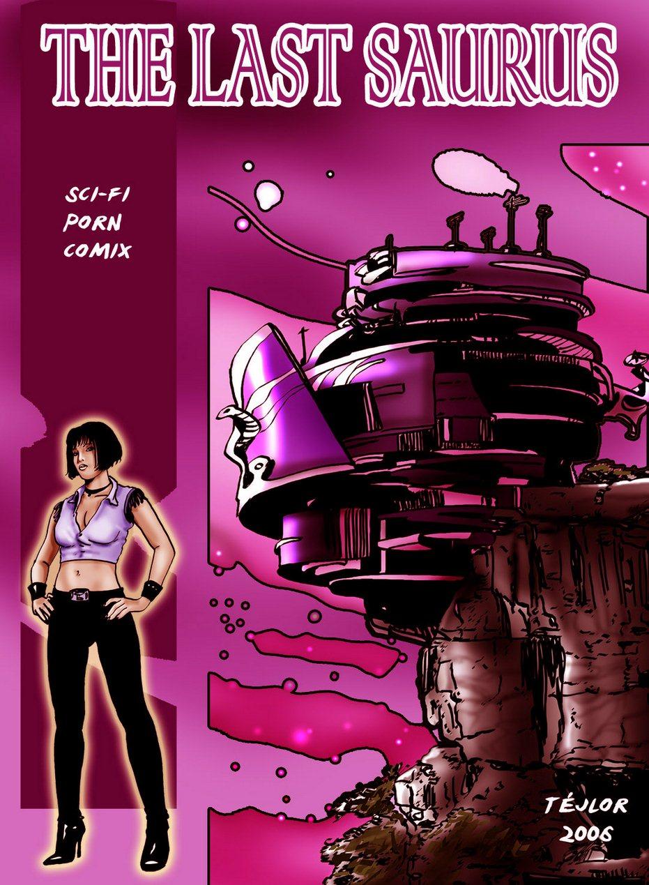 The last Saurus- Sci -fi image 01