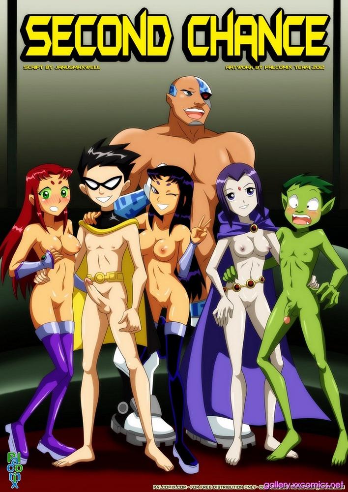 Porn Comics - Second Chance- Teen Titans porn comics 8 muses