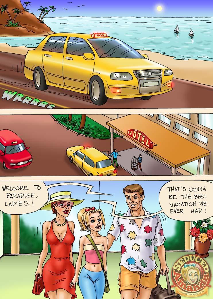 Porn Comics - Seduced Amanda – Caribbean Vacation porn comics 8 muses