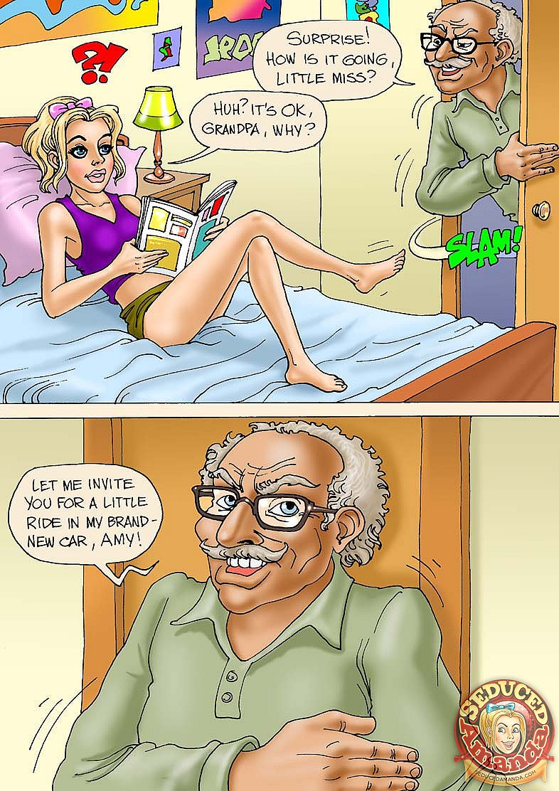 Porn Comics - Grandpa and His New Ride porn comics 8 muses