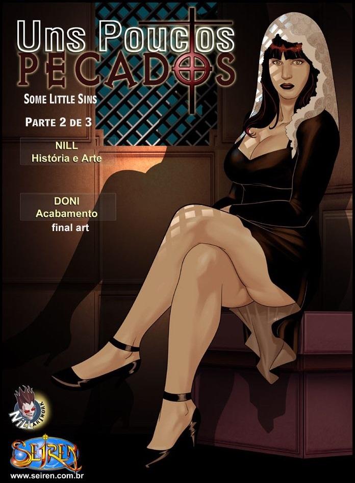 Porn Comics - Seiren- Some Little Sins – 2 porn comics 8 muses