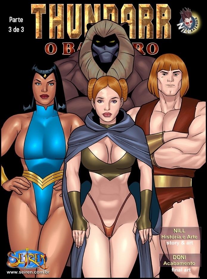 Porn Comics - Thundarr 2- The Barbarian-Part 3 porn comics 8 muses