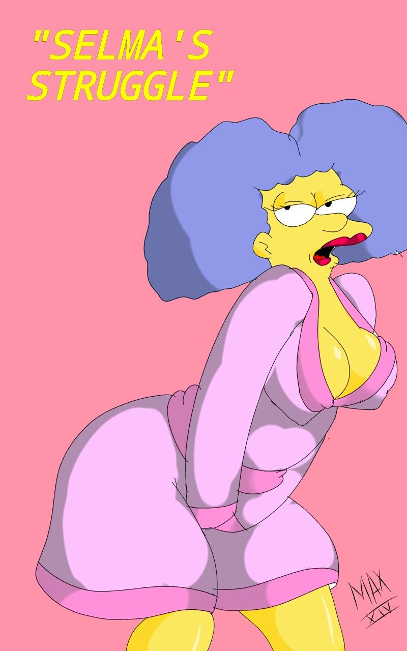 Porn Comics - Selma's Struggle- The Simpsons porn comics 8 muses