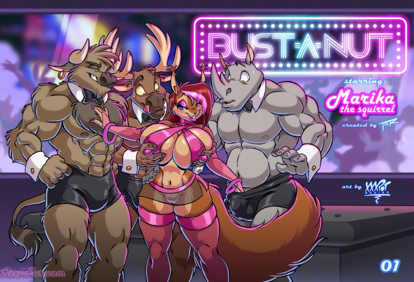 Porn Comics - Sexyfur- Bust-A-Nut porn comics 8 muses