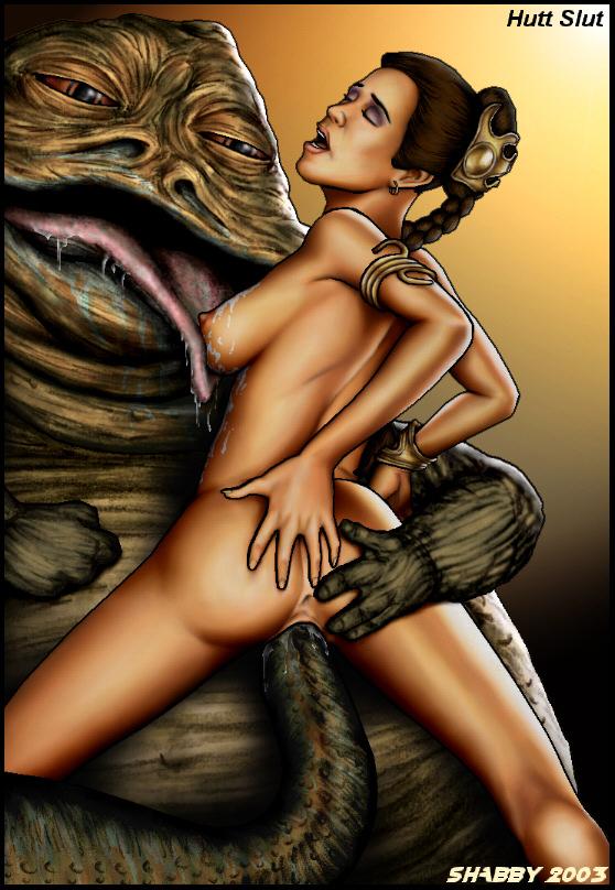 Porn Comics - ShabbyBlue 2003 Series- Star War porn comics 8 muses