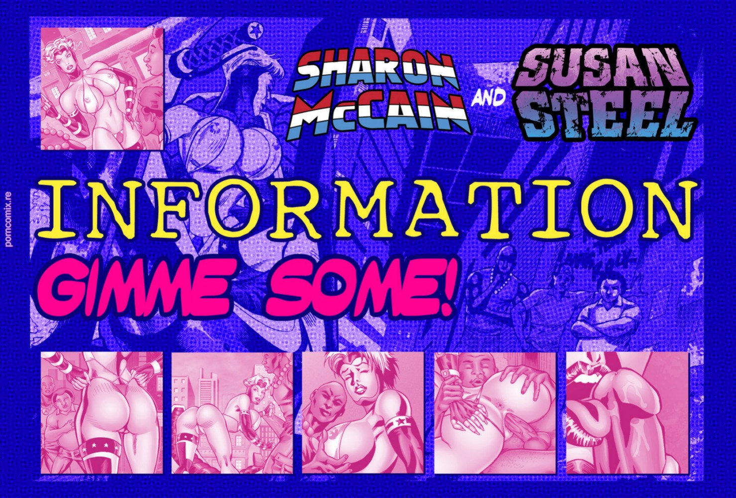 Porn Comics - Sharon MacCain in Information- Gimme Some! porn comics 8 muses