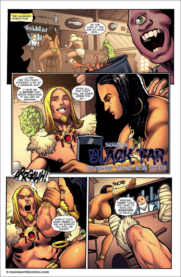 Porn Comics - Shashanna – Black Tar porn comics 8 muses