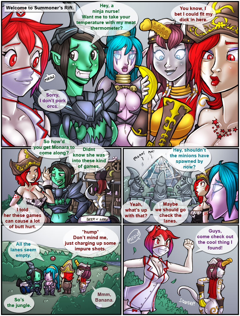 Porn Comics - Shia- League of Labia porn comics 8 muses