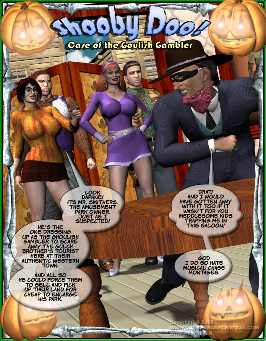Porn Comics - Shooby Doo-Case Goulish Gambler porn comics 8 muses