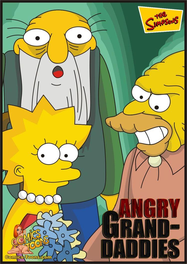 Porn Comics - Simpsons- Angry Grand-Daddies porn comics 8 muses