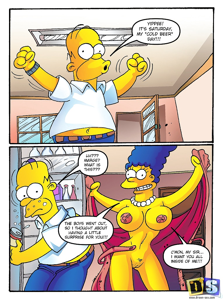 marge simpsons adult porn comics