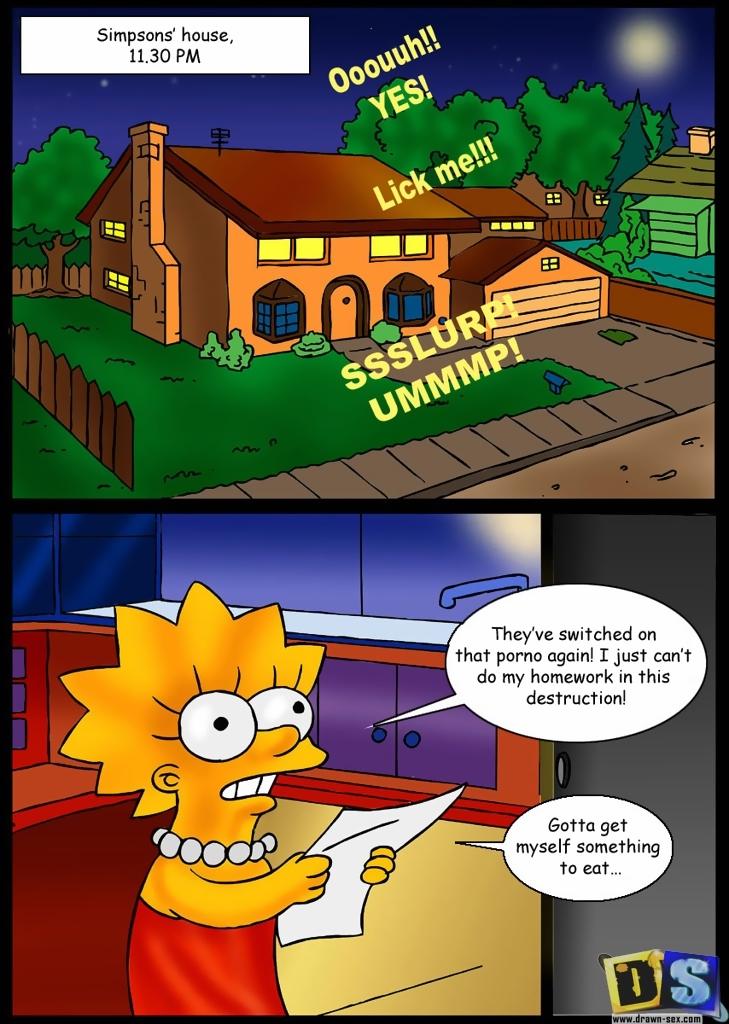 Porn Comics - Simpson's House porn comics 8 muses