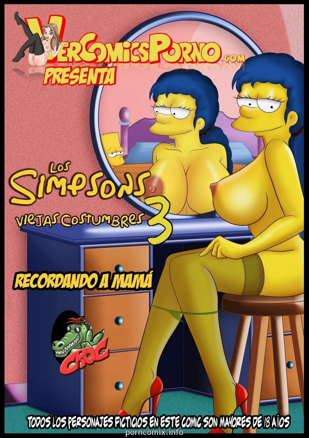 Porn Comics - Los Simpsons 3- Old Habits porn comics 8 muses