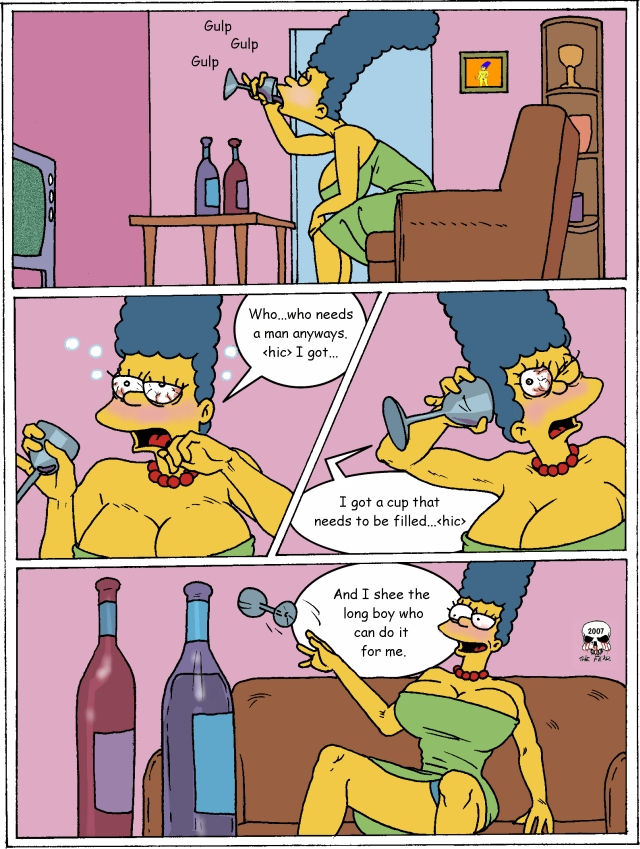 Porn Comics - Simpsons- Marge Exploited porn comics 8 muses