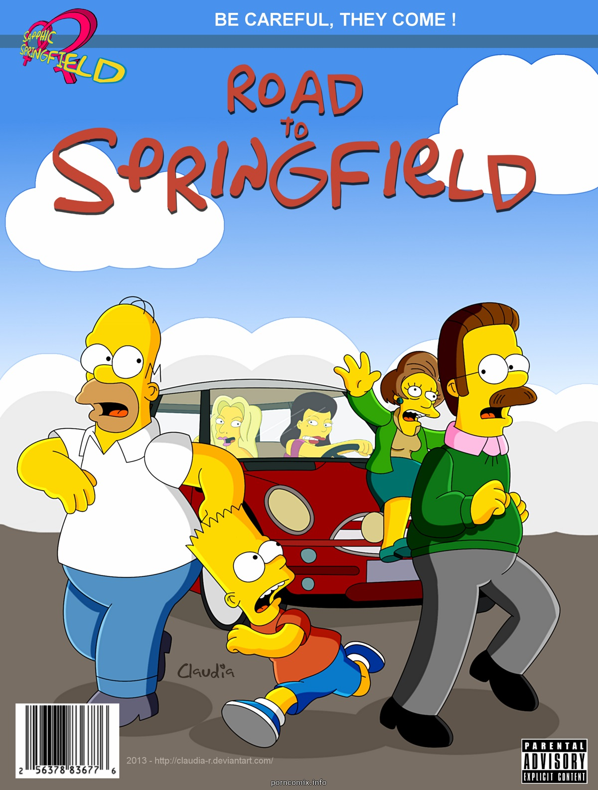 Simpsons- Road To Springfield image 01