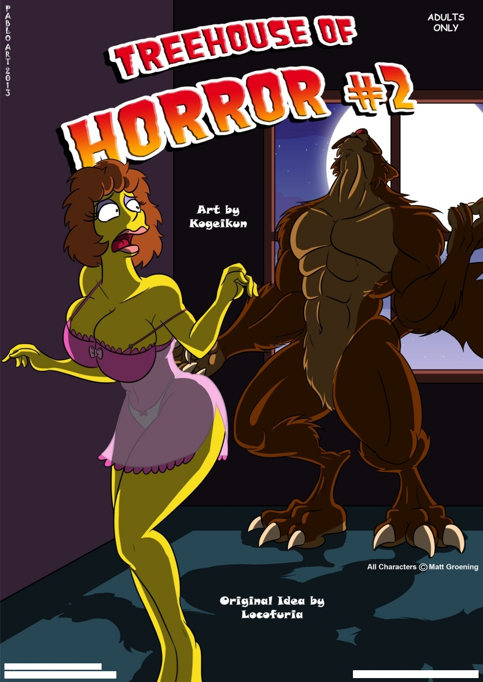 Porn Comics - Simpsons-Treehouse of Horror 2- Kogeikun porn comics 8 muses