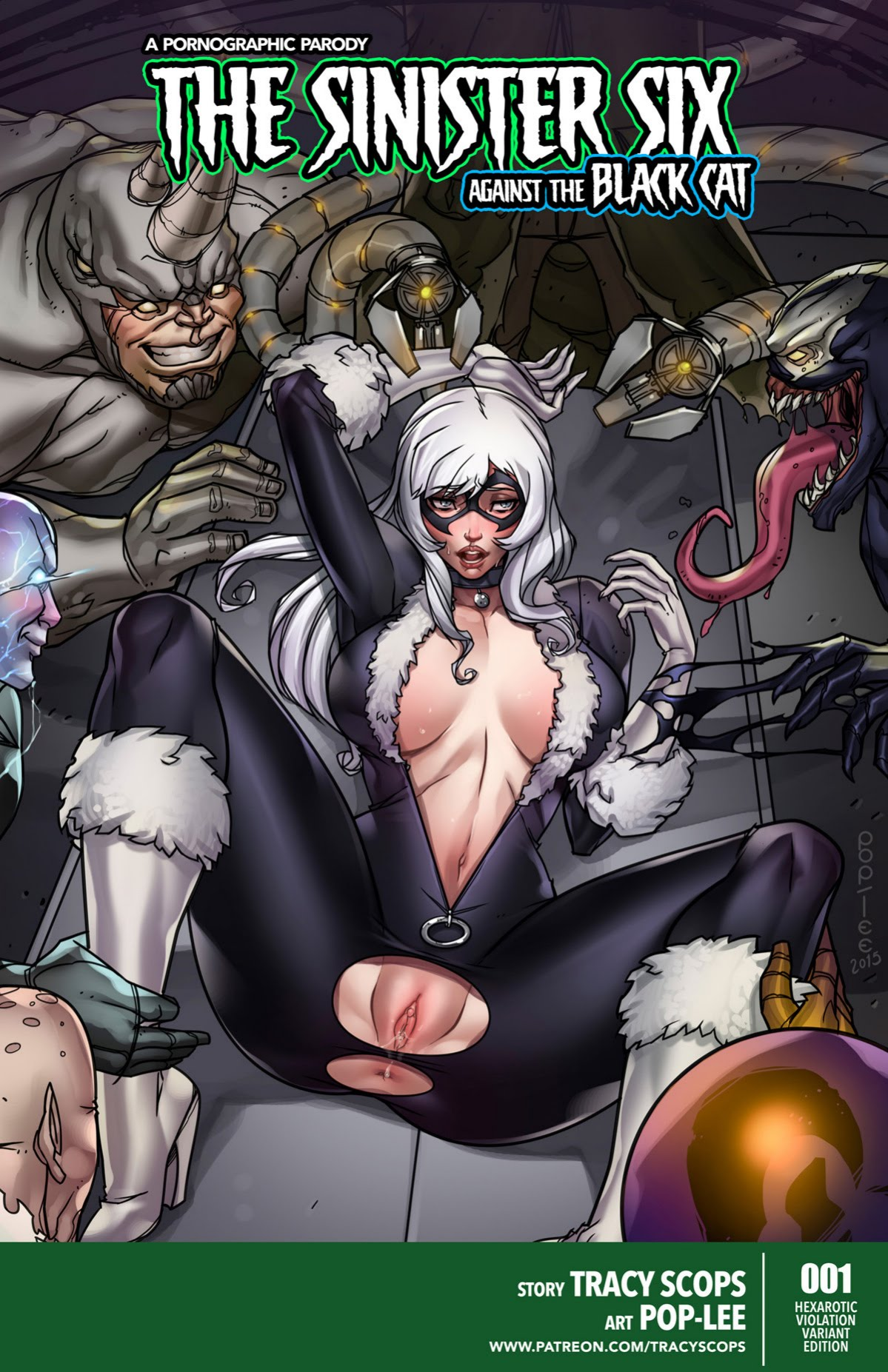 Sinister Six- Against the Black Cat image 1