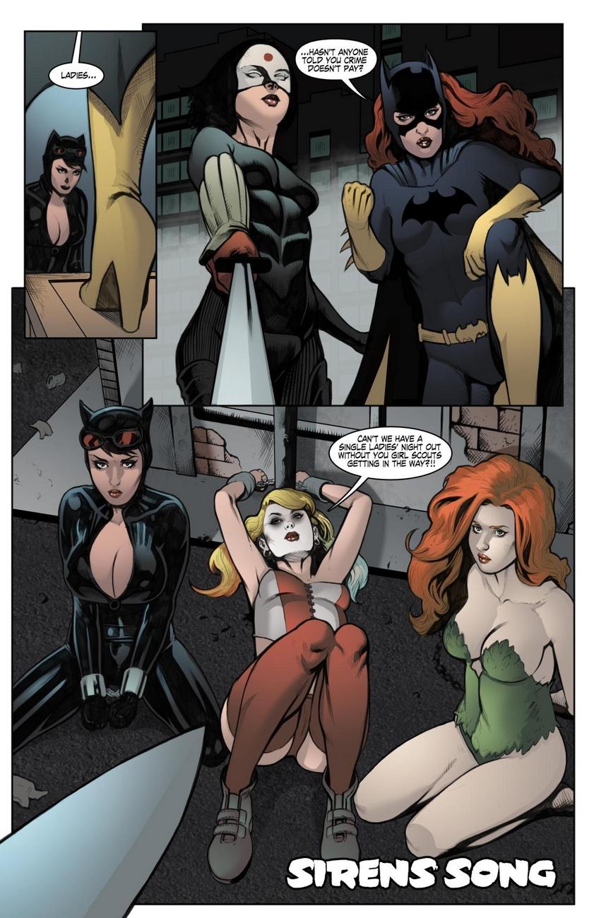 Porn Comics - Sirens Song- Superheroes porn comics 8 muses