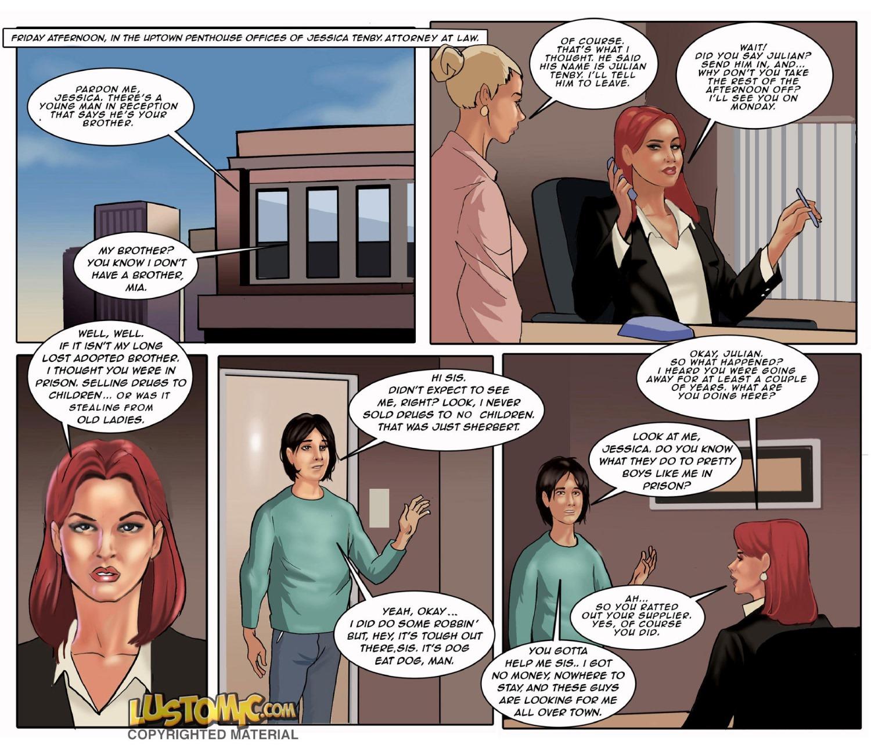 Porn Comics - Sis' Sissy Secretary- Lustomic porn comics 8 muses