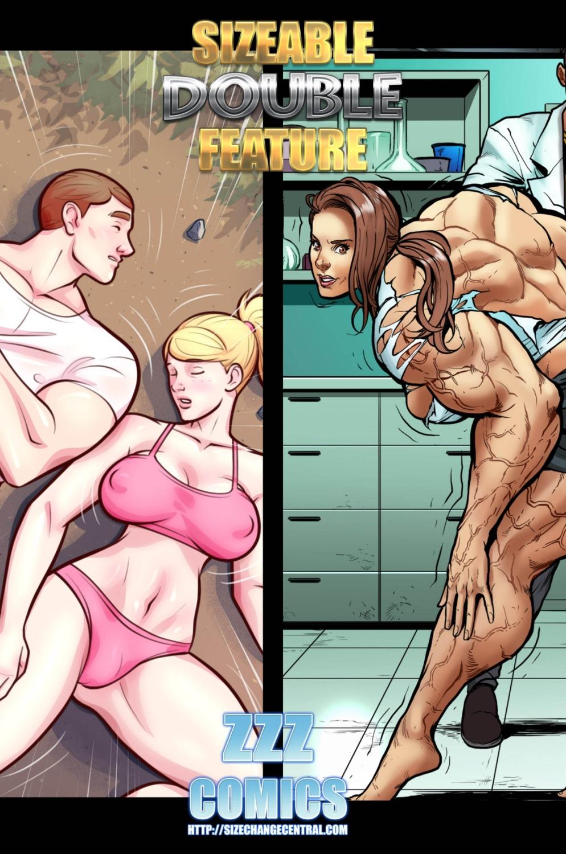 Porn Comics - Sizeable Double Feature 1- ZZZ porn comics 8 muses