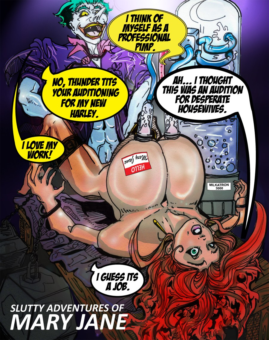 Porn Comics - Slutty Adventures of Mary Jane porn comics 8 muses