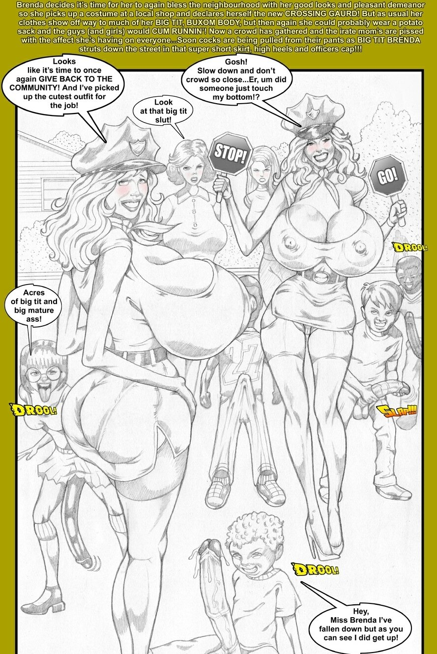 Porn Comics - Smudge-Neighbour With A Favour porn comics 8 muses