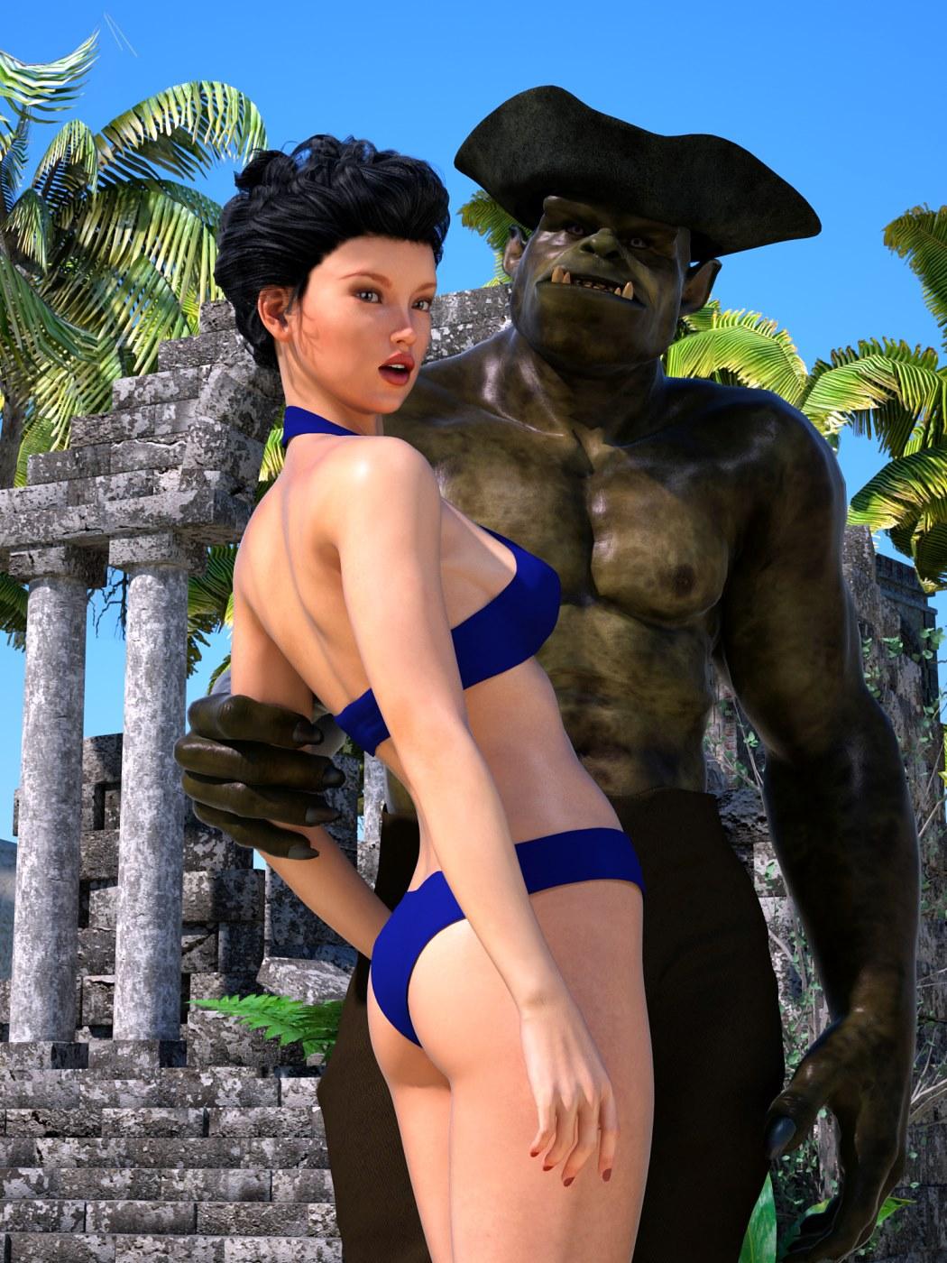 Sorceress Lori – Beach Day Part 3 image 1