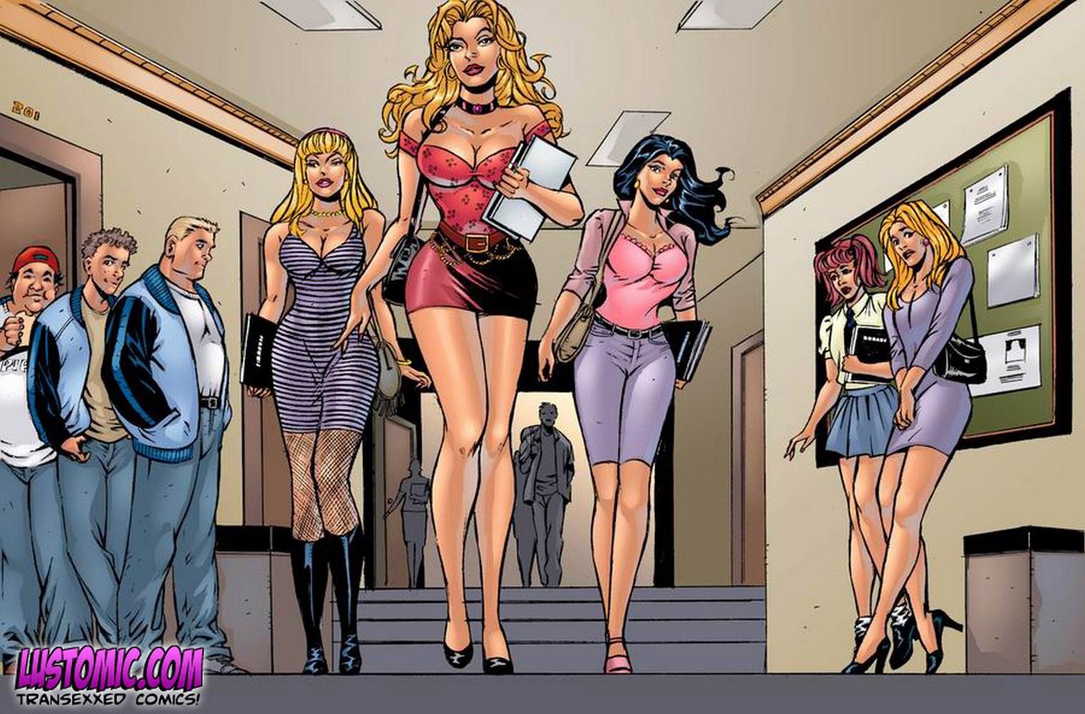 Porn Comics - Sorority Sisters porn comics 8 muses