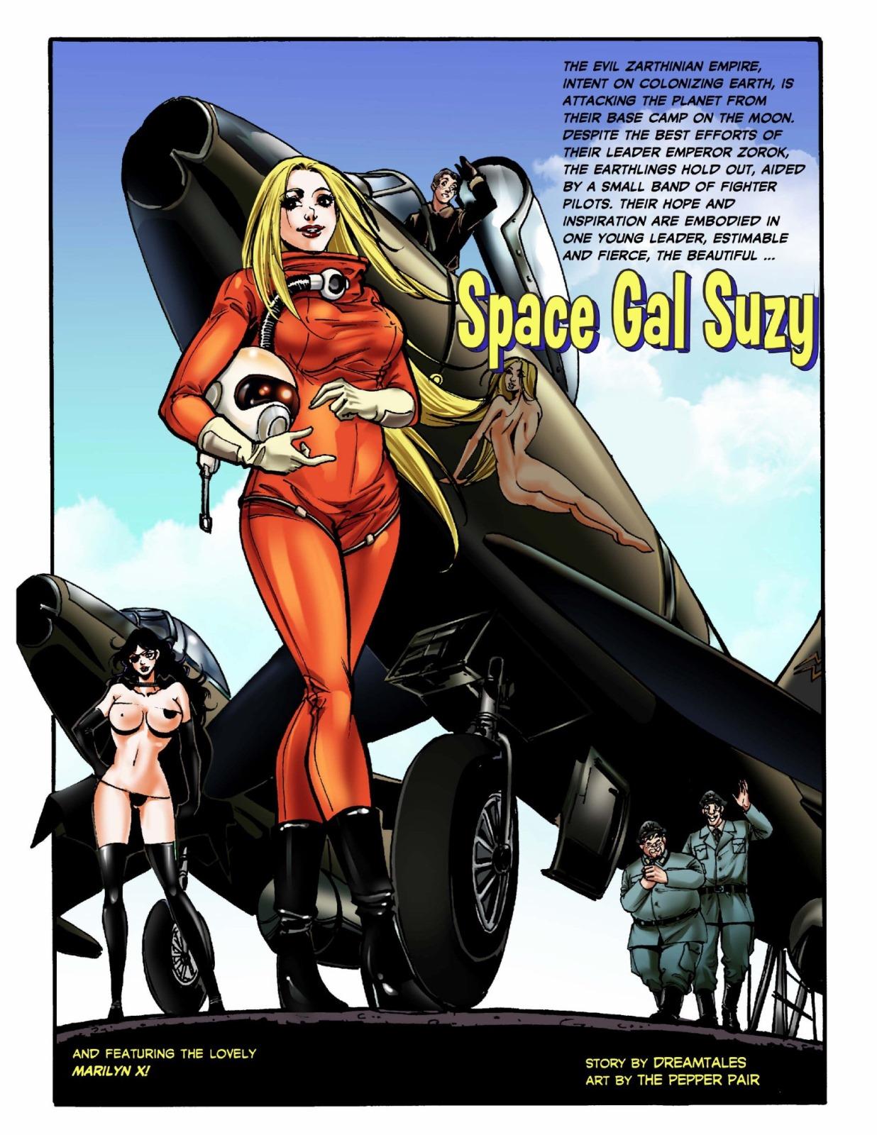 Space Gal Suzy- Dreamstales image 1