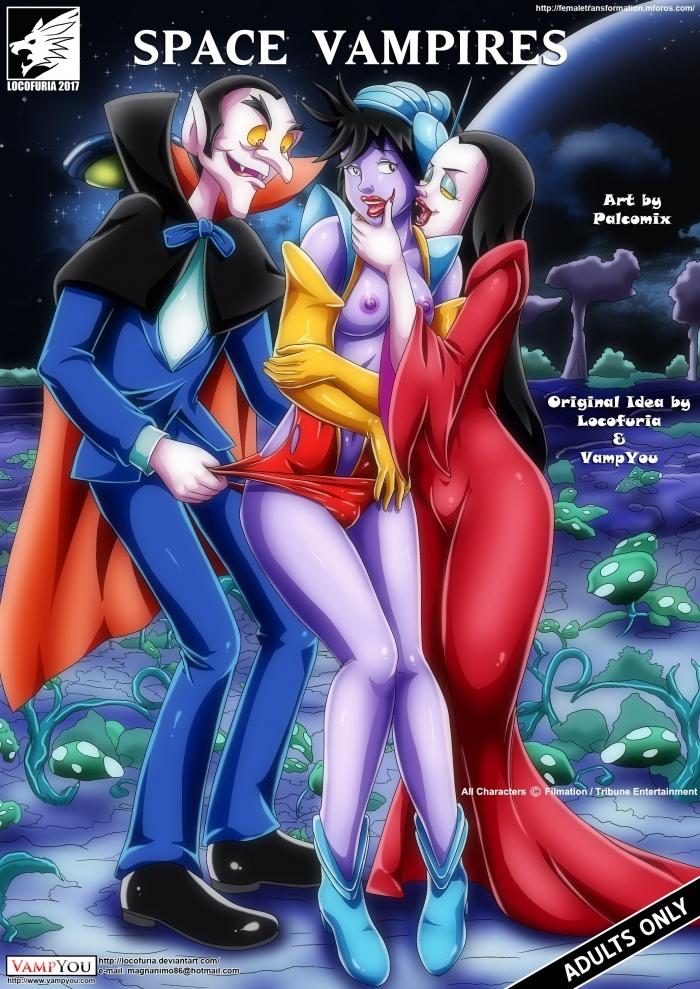 Space Vampires- Palcomix image 1