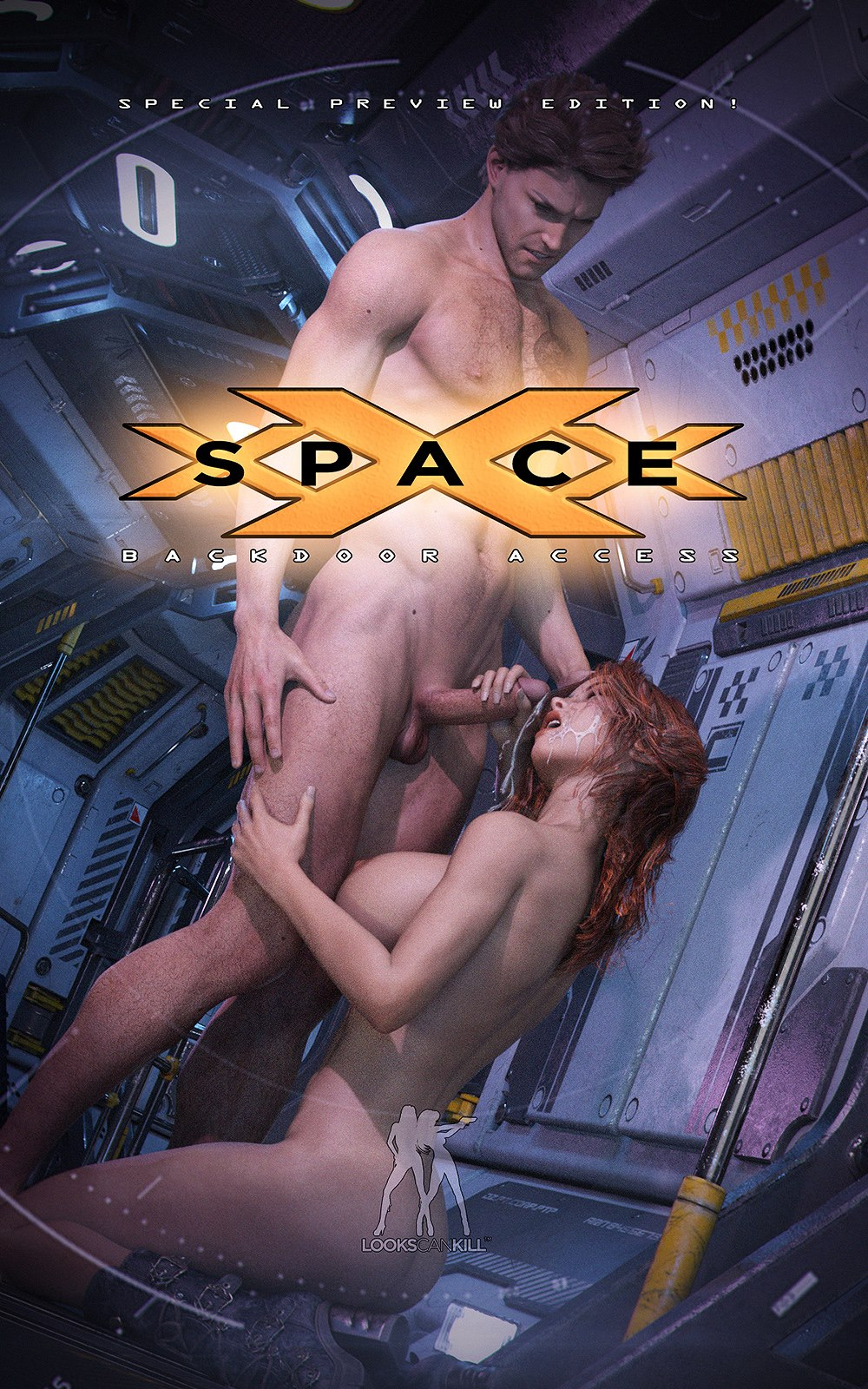 Space XXX – Backdoor Access image 1