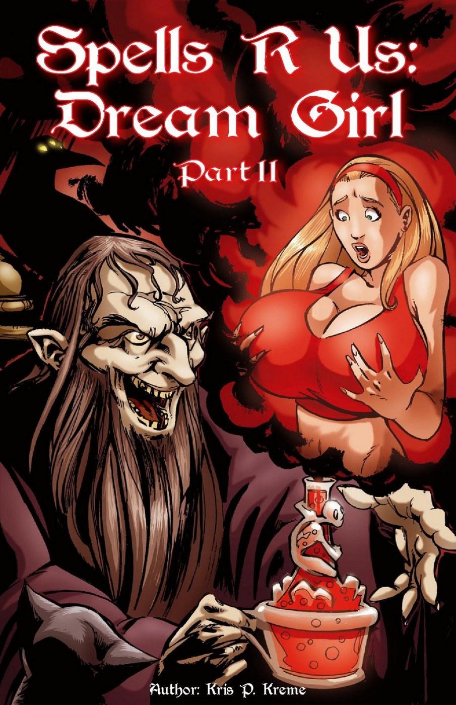Spells R Us – Dream Girl 2- Bot Comics image 01