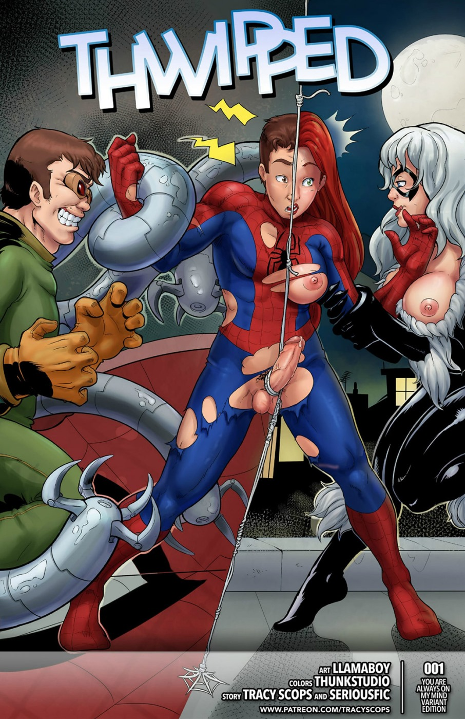Porn Comics - Spider-Man- Thwipped (Tracy Scops) porn comics 8 muses