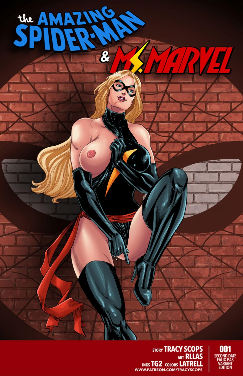 Porn Comics - Spiderman & Ms. Marvel – Tracy Scops porn comics 8 muses