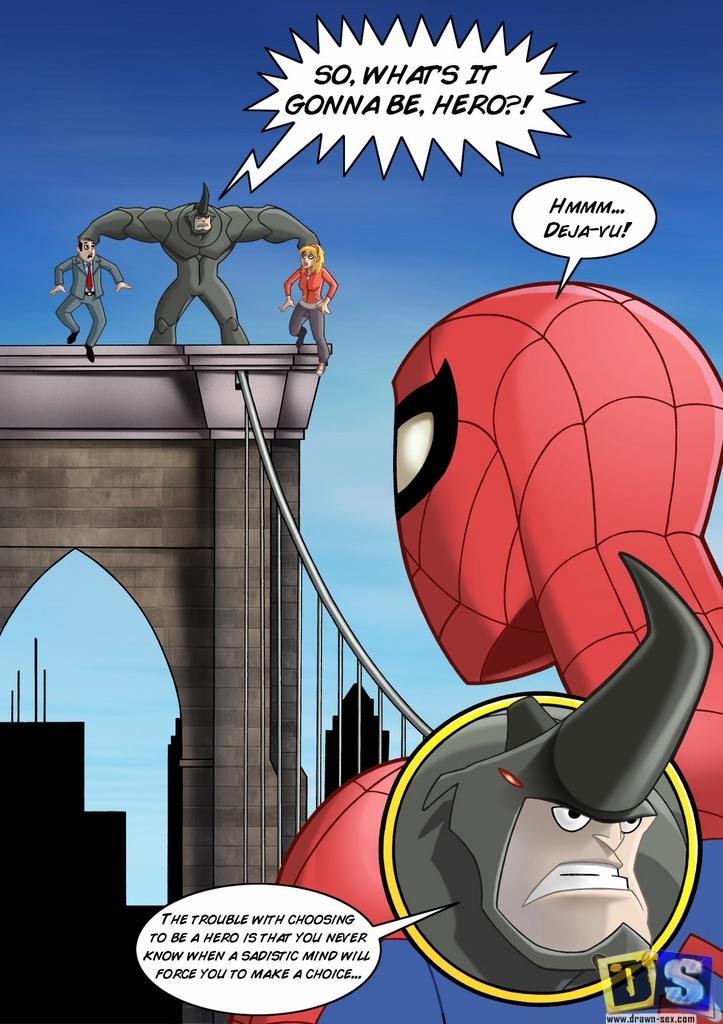 Porn Comics - Spiderman- Reward porn comics 8 muses