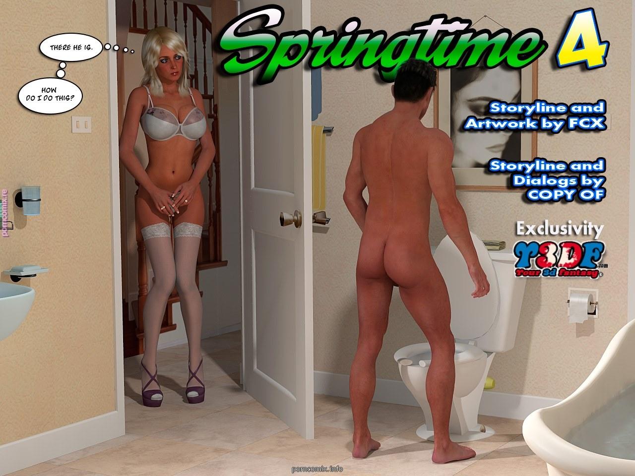 Porn Comics - Y3DF- Spring Time 4 porn comics 8 muses