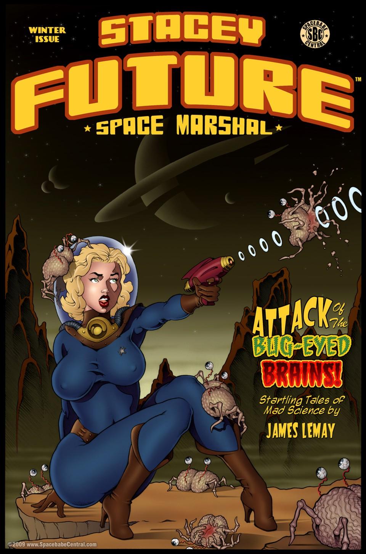 Porn Comics - Stacey Future- Space Marshal porn comics 8 muses