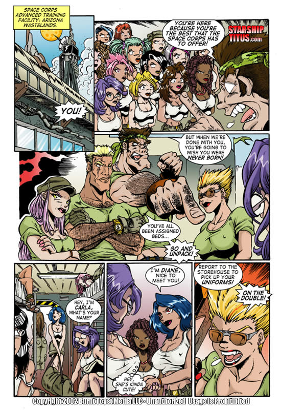 Porn Comics - Starship Titus-And Here it Begins porn comics 8 muses