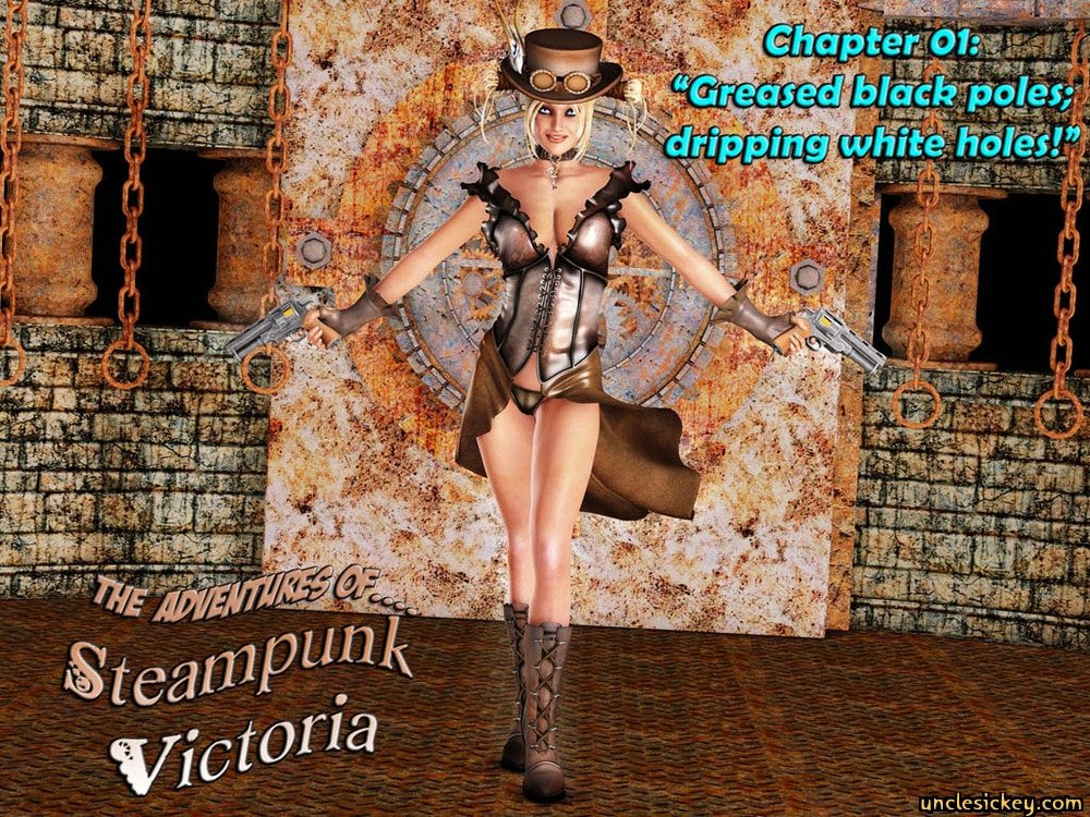 Steampunk Victoria Fuck-Uncle Sickey image 01