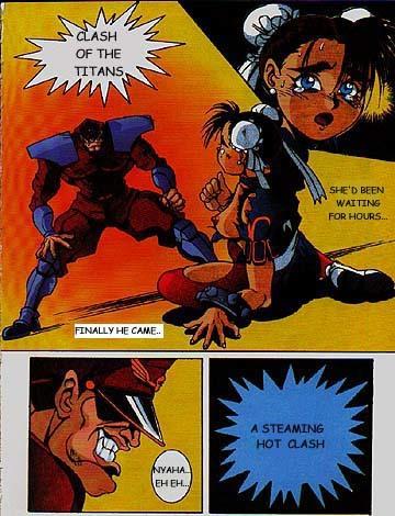 Porn Comics - Street fighter- Clash of the Titans porn comics 8 muses