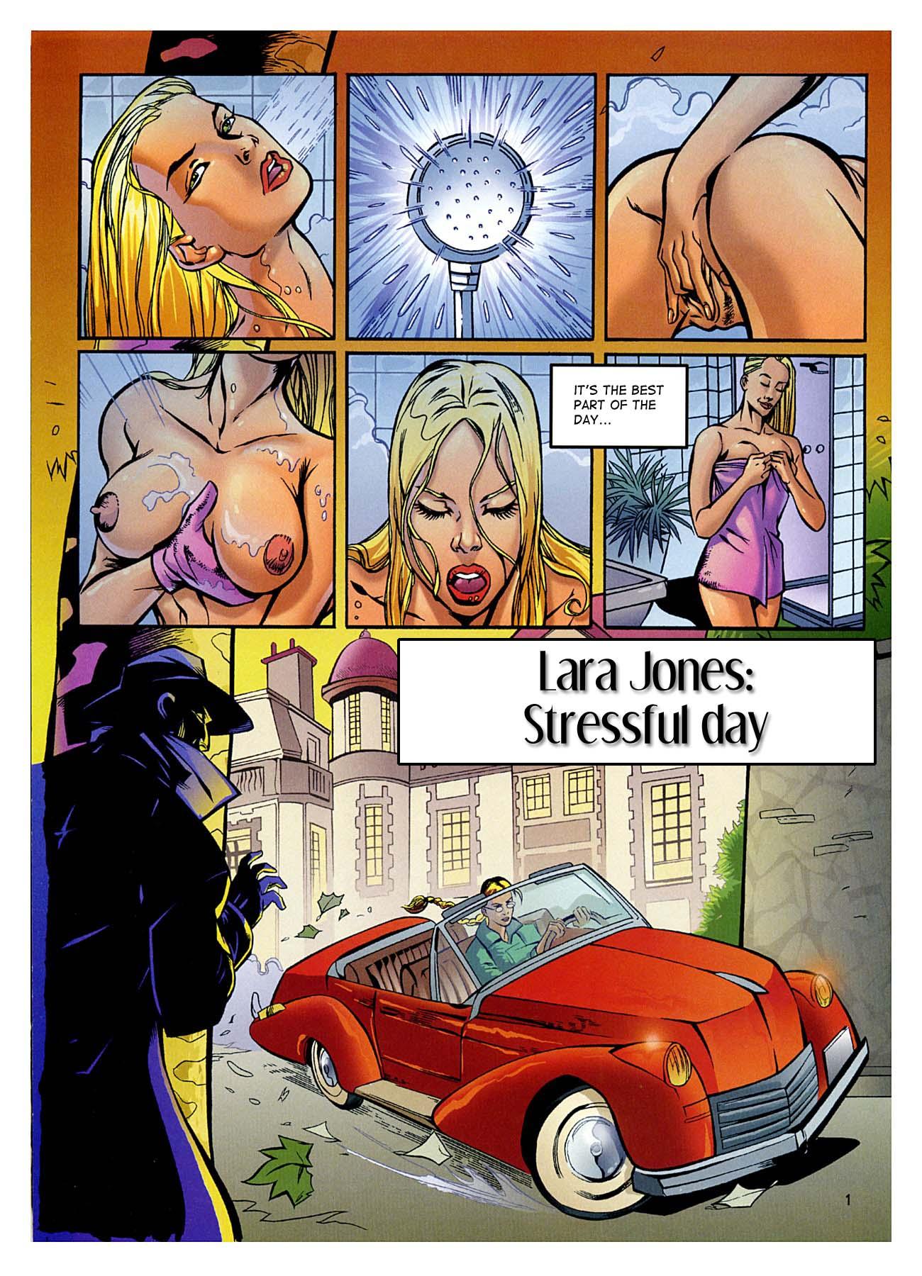 Porn Comics - Stressful Day- Lara Jones porn comics 8 muses
