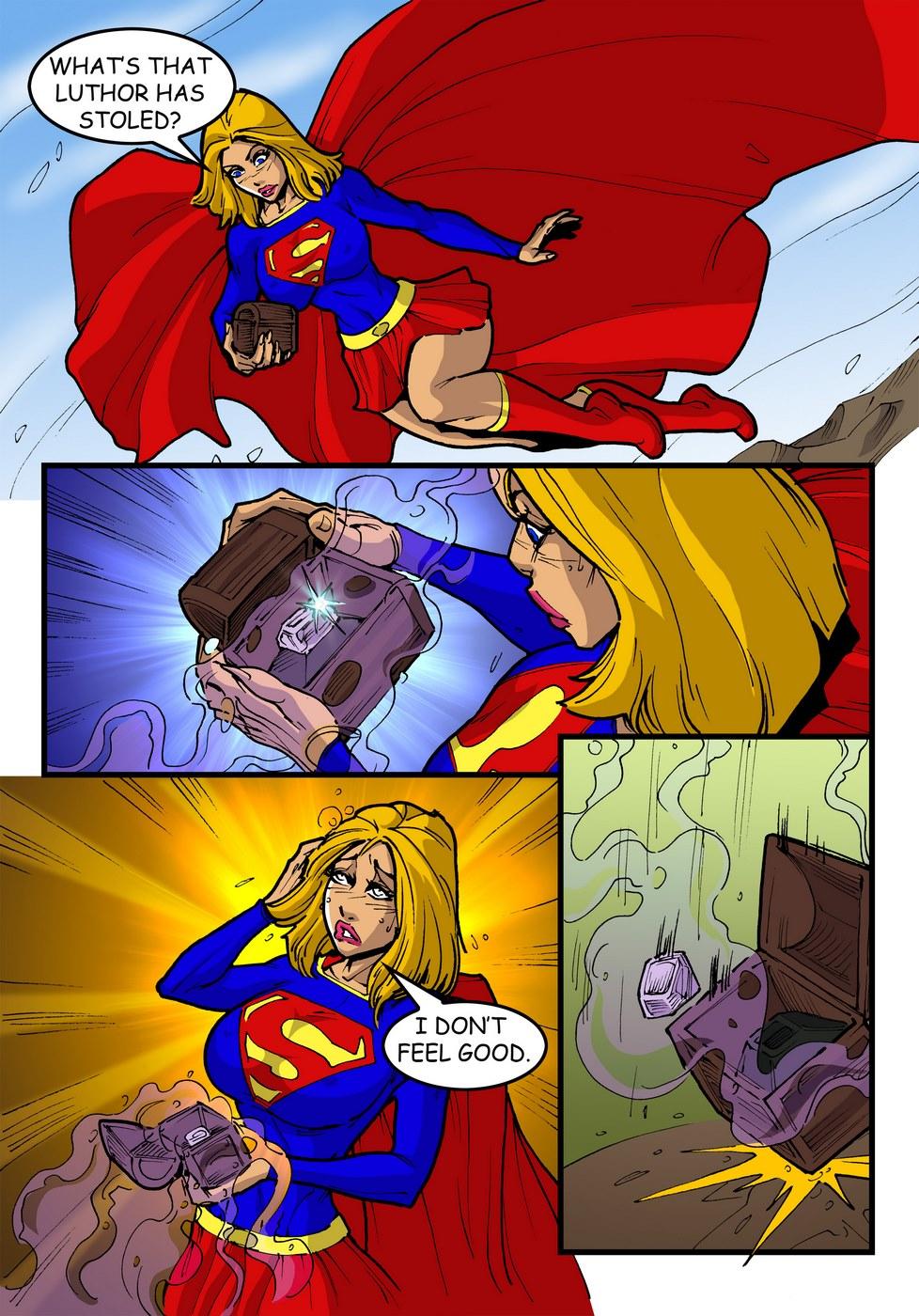Porn Comics - SuperGirl's Super Boobs porn comics 8 muses