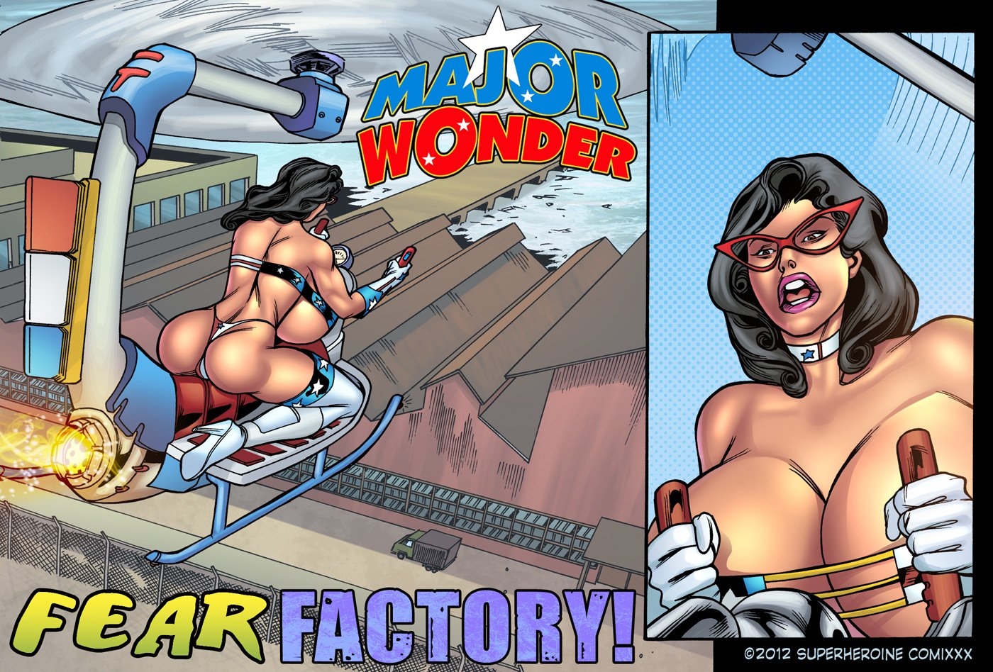 Porn Comics - Major Wonder- Fear Factory Raw porn comics 8 muses